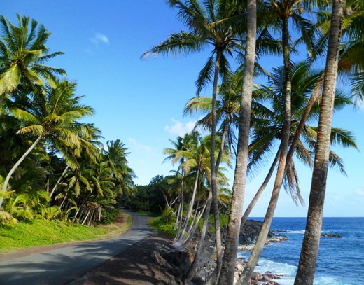 hidden hawaii the enchanted red road in puna on the big island. Black Bedroom Furniture Sets. Home Design Ideas