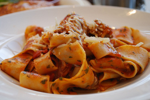 Osso Bucco with Pappardelle
