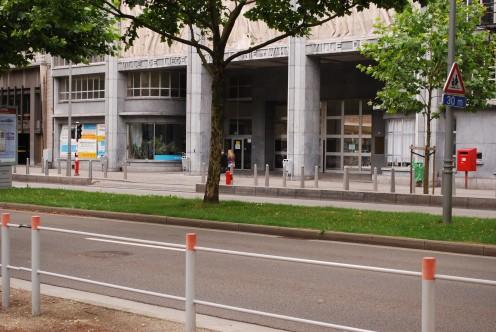 Athénée Léonie de Waha, on Boulevard d'Avroy,  Liège.
