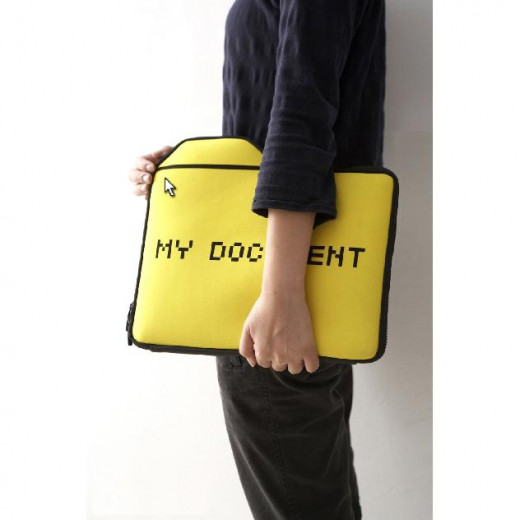 The My Document case is a really cool and unique laptop sleeve that will get you noticed. Everyone will recognize this subtle and cheeky icon design.