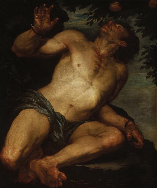 Tantalus, by Gioacchino Assereto.