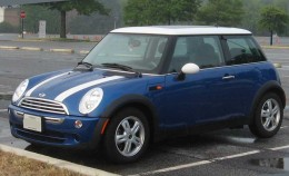 Cars such as the Mini Cooper are available to drive in Project  Gotham Racing.