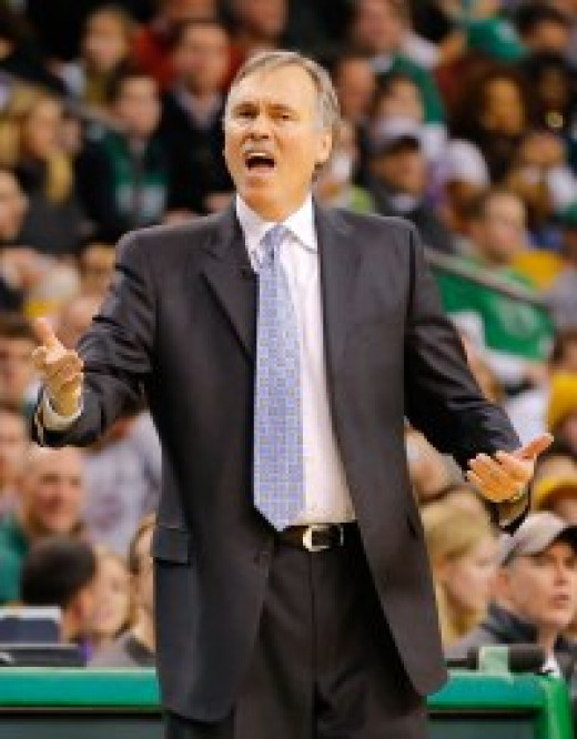 """It's terrible. She has beautiful eyes, and her hair smells like cinnamon!""--Mike D'Antoni"