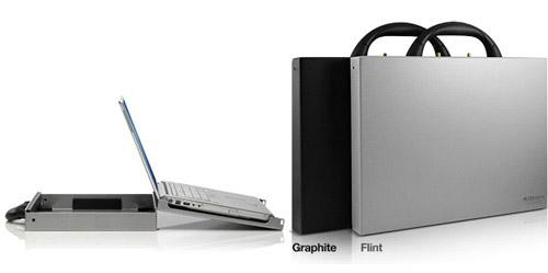 The MacTruck laptop case is made from anodized aluminum and will serve to protect and cool your computer as you use it.