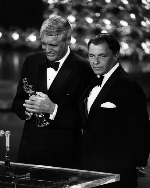 With Frank Sinatra, April 7, 1970