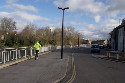Riverside road linking Midsummer Common and Stourbridge Common