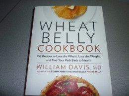 This is the Wheat Belly cookbook we used during our weight loss experiment