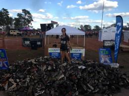 Donating muddy shoes to Usagain
