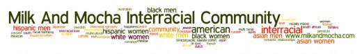 Interracial Word Cloud