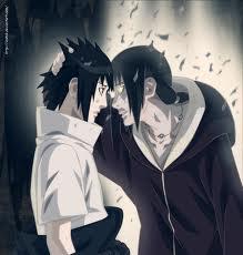 Sasuke with Itachi