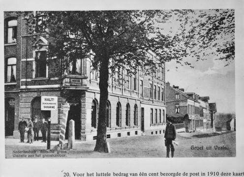 Grensstraat, Vaals, c. 1910