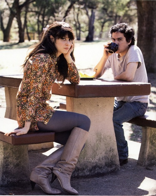 Zooey with M. Ward... She & Him