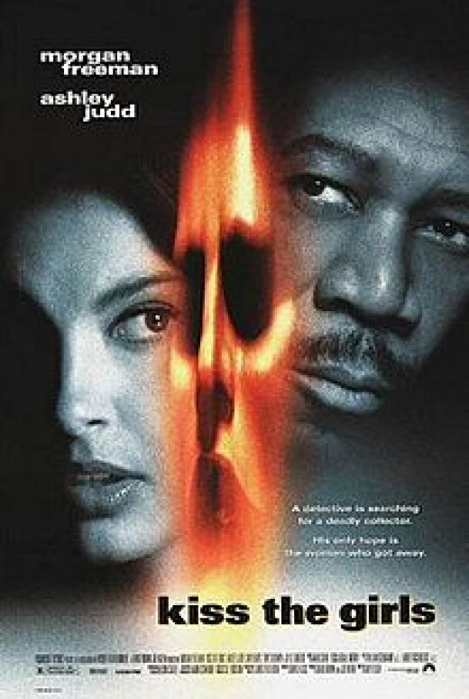 Ashley Judd and Morgan Freeman in Kiss The Girls
