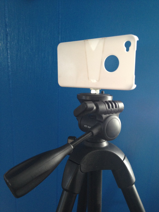 Works with any style tripod