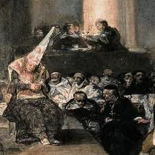 The Inquisition. Those who were deemed to be beyond the prevailing religious society were horrifically executed.They included so-called heretics and those who did not belong to the majority religion of the time.