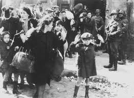 European Jews during World War II were targetted for discriminatory treatment and eventually slated for annihilation.  Only a few survived this horrific event known as Shoah or the Holocaust.