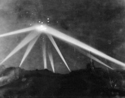 "Famous UFO Sighting: This UFO Photo is from the ""Battle of Las Angeles"" a supposed engagement between the US Military and a UFO."
