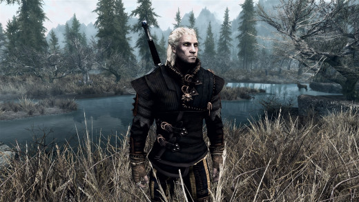 In Skyrim, you can make your character look exactly how you want as well as choosing one of 10 different races