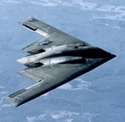 The Stealth Bomber was responsible for a great many UFO Sightings before it became declassified -- eight years after it was first used!