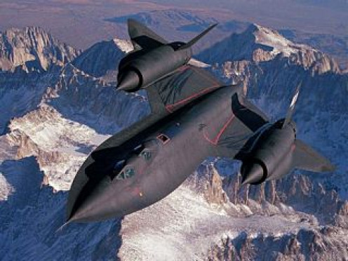The Blackbird was very frightening to many people before being revealed by the USAF, answering many UFO Sighting Witnesses questions about it.