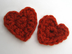 Red hearts for your valentine!