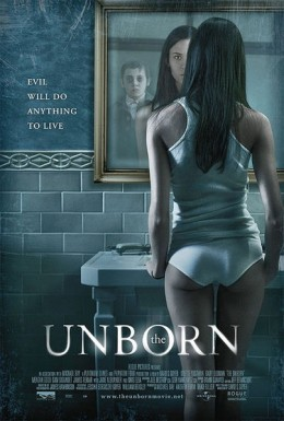 "Odette Yustman in ""The Unborn"""