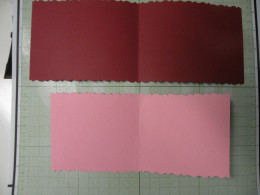 Inside of card: pink background