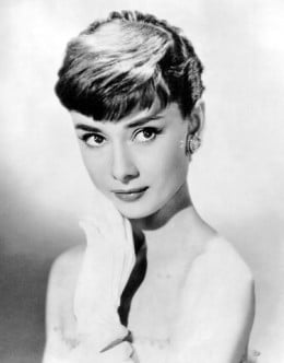Audrey Hepburn is a classic beauty