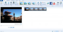 To Speed up Video on Windows Movie Maker, first of all load the video