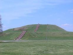 Monk's Mound at Cahokia in Illinois