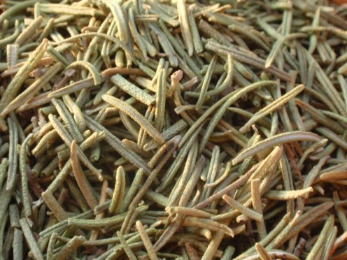 Rosemary as a dry Herb/Spice