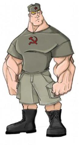 Our old friend, Super Ivan.