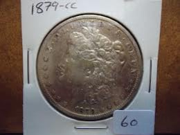 Mid grade 1889 CC Morgan Silver Dollars can be worth thousands. If you have one in great condition, be sure to have it graded professionally.
