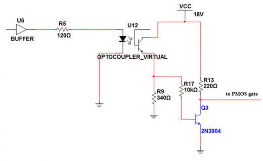 Gate-drive circuit for PMOS switch