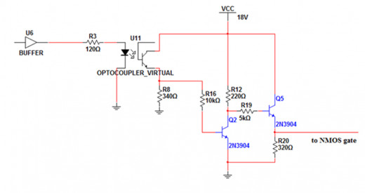 Gate-drive circuit for NMOS switch