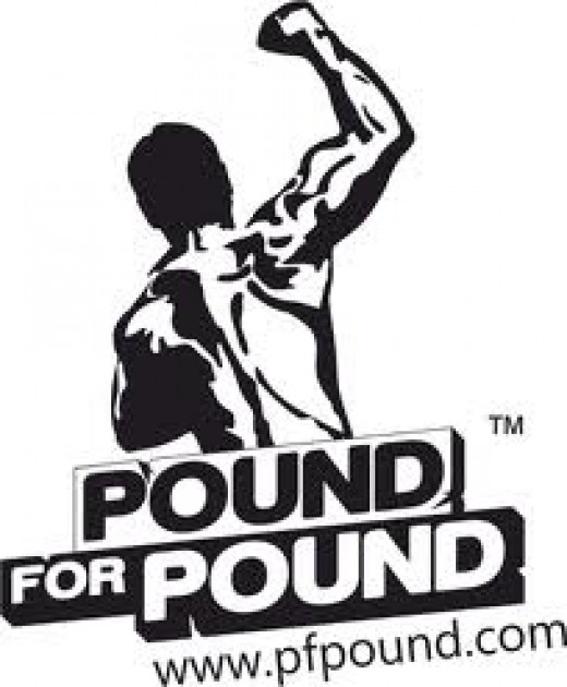 The word pound for pound was inspired and attributed first to Sugar Ray Robinson. Their is now a top ten pound for pound list that is used to determine the best in the world regardless of weight class.
