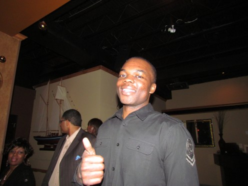 Quinten Dantley, one of the original comedians who started the adept comedy crew that features constant laughter.