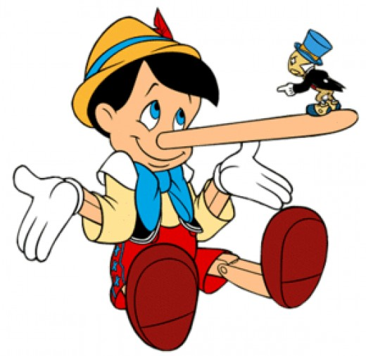 Some people have more obvious tells when they're lying than Pinocchio. Rule #1 let's you get around that.