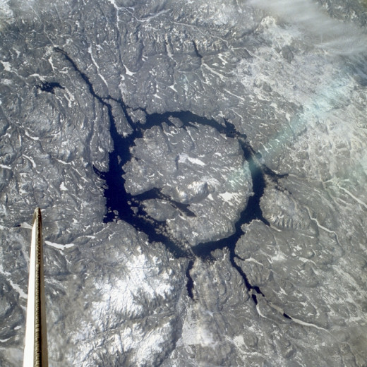 This is the largest impact crater lake in the world.