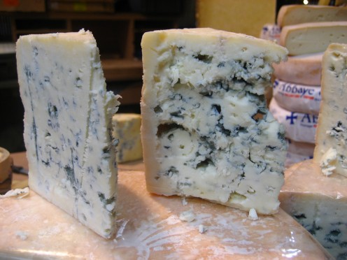 Ripe and ready to enjoy: blue cheese