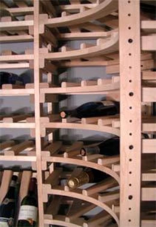 Building Wine Rack Lattice, Homemade Gun Safe Lighting