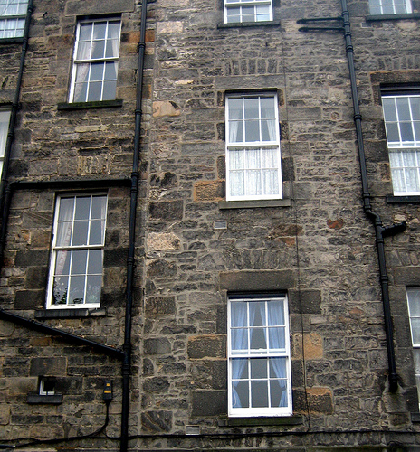 A Scottish tenement flat.