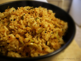 Apple Rice, ready to be served