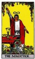 The Magician, who has all the tools necessary to accomplish any desired goal