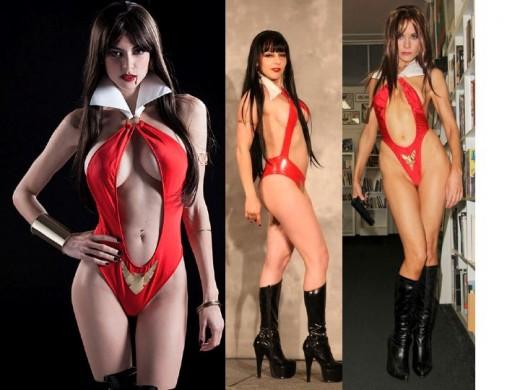 Vampirella Cosplay Costumes