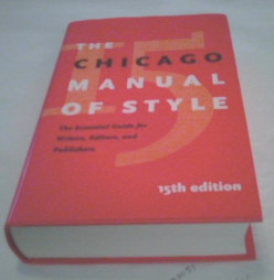 Chicago Manual of Style Basics