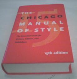 Chicago Manual of Style Basics