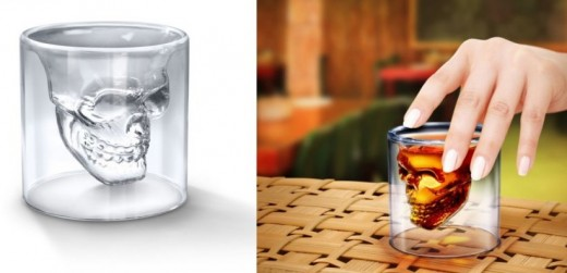 Fred and Friends Doomed: 'Crystal Skull' shot glass