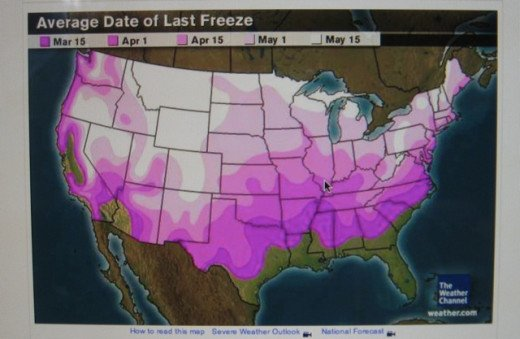 Frost Dates