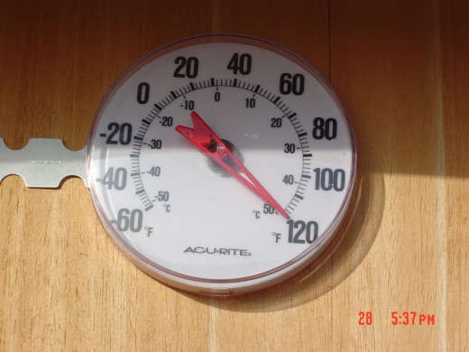 Thermometer in JBad, Never Dropped Until Nightfall